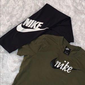 Nike shirt and leggings bundle